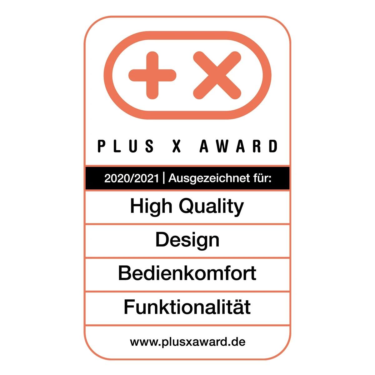 Plus X Award 2020/202