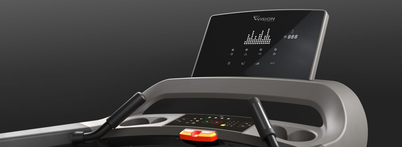 Laufband Vision T600 Display + Konsole