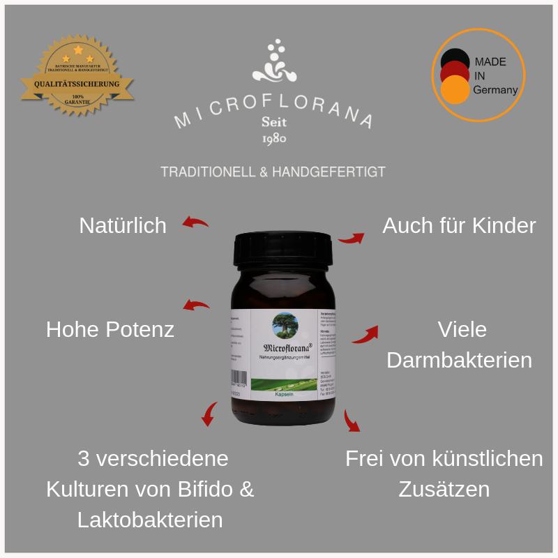 Microflorana® Pulver Kapseln - Facts