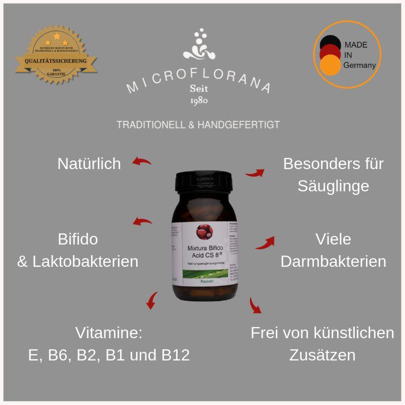 Vorteile von Mixtura Bifido-Acid CS 8®