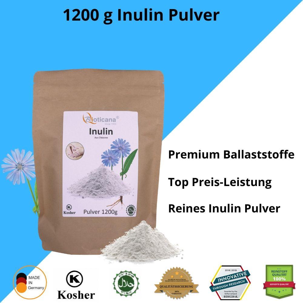 Inulin-Pulver-vegan