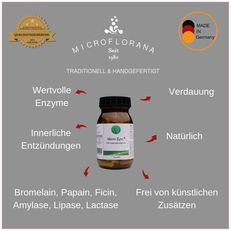 Zutaten-Micro-zym-Kapseln