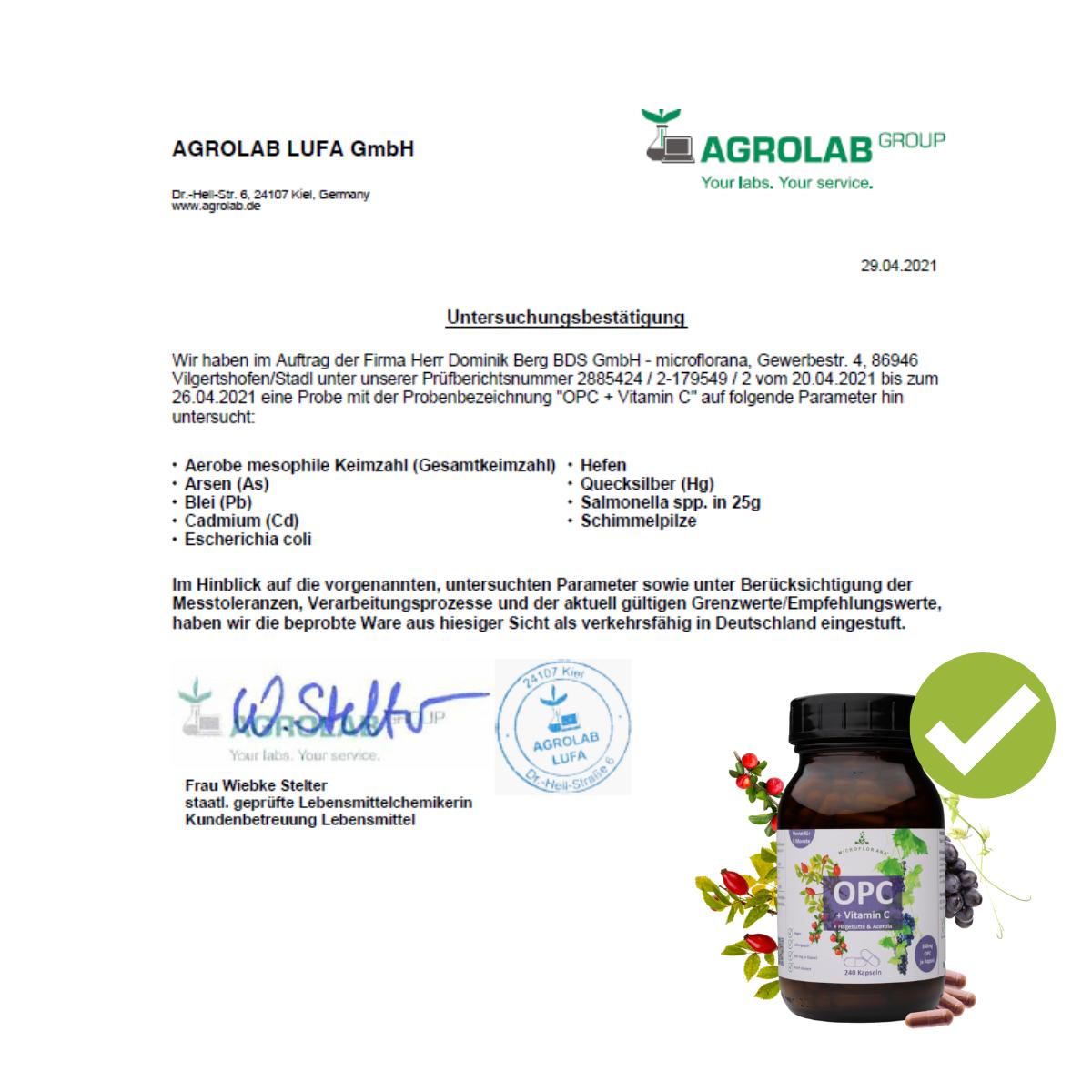 Zertifikat OPC