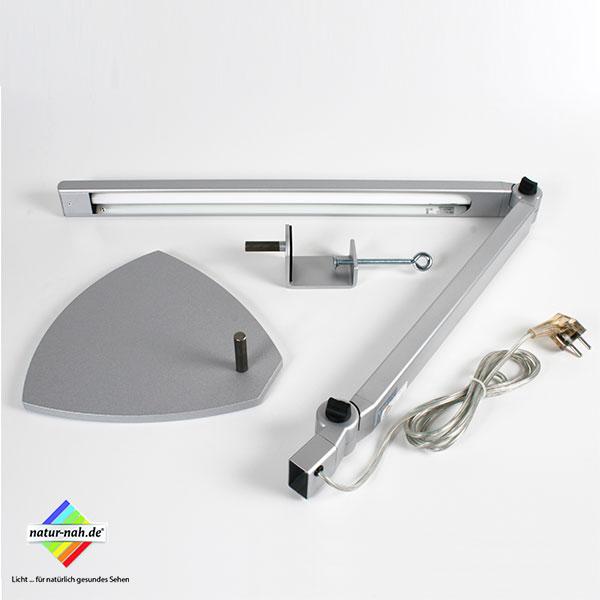 LED Tischleuchte, Einzelteile