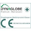 Matratzen Öl-Vitalbett - 100 x 200 cm - Dynaglobe