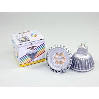 LED Spot MR16 Vollspektrum Tageslichtlampe   6 Watt   GU5.3