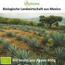 Bio Inulin Pulver aus Agave