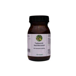 Teebaumöl & Nachtkerzenöl Kapseln