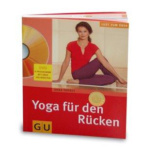 """Buch mit DVD """"Yoga für den Rücken"""""""