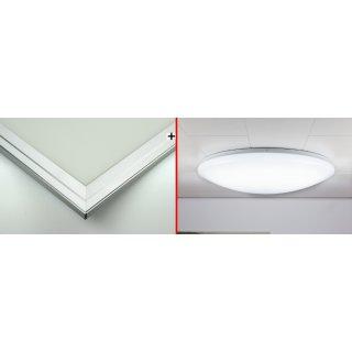 Variation 2 | LED-Panel + Denkenleuchte Sunny CCT